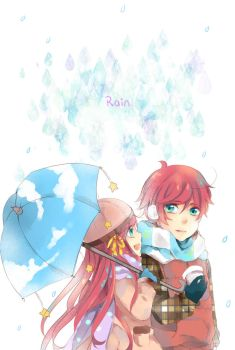 Rain by Miyalin