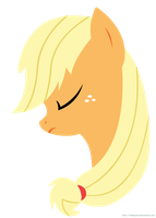 MLP Commission - Applejack Minimal by MLPBlueRay