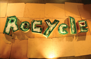 Handmade Type - Recycle by AwazS