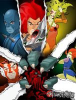 Thundercats by gyrfalcon65