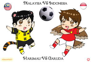 Event: Malaysia VS Indonesia by Pikaspirit