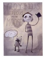 Atticus Aloysius and the MOOSE by zirofax