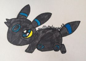 Giveaway winning- umbreon by muffinthehamster11
