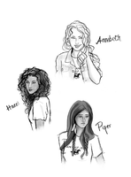 Percy Jackson - The Girls by Elwy
