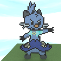 John Minecraft Pixel Request by hero011
