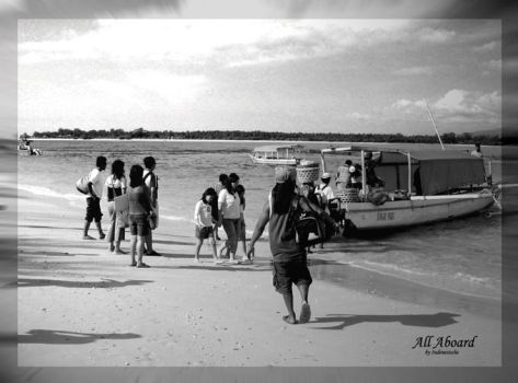 All Aboard by indonesische