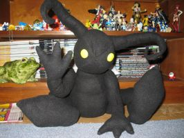 shadow heartless plushie by gfroggy87