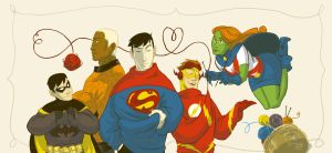 Fanart - Young Justice by Shinzo-X