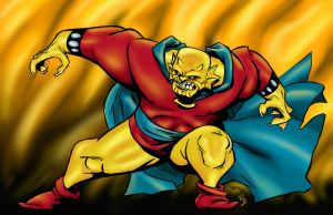 The Demon Etrigan by statman71