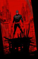 Daredevil red by Dan-Mora