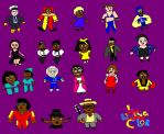 In Living Color Characters Chibis by ESPIOARTWORK-102