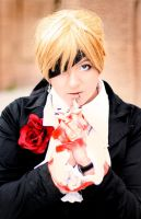 Kagamine Len - The Red Tie by Des-Henkers-Braut