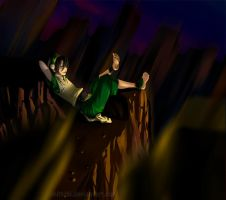100k Kiriban: Toph Relaxing by omittchi
