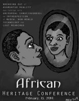 African Heritage Poster (Version 2) by Rococokara