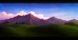 Spring ~ Speed-painting by Enigmatic-Ki