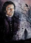 Luke Evans - The Raven by MeduZZa13