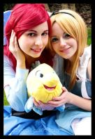 Ariel and Alice by BlastXX
