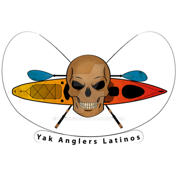 Yak Anglers Latinos (logo) by Designs-CD