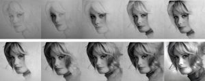 Catherine Deneuve - WIP by Stanbos