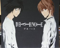 Death Note Canvas 1 by Swagsman21