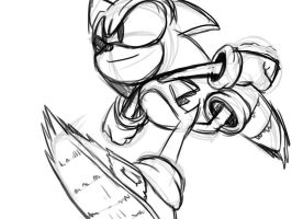 Sonic 2 doodle by rongs1234