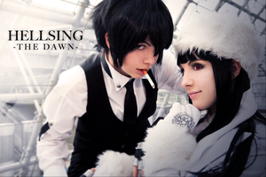 Hellsing: Walter and Girlycard by neni-chan