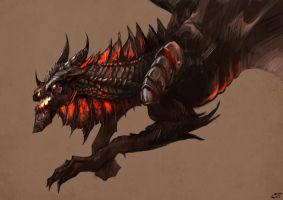 Deathwing by MeWannaLearn
