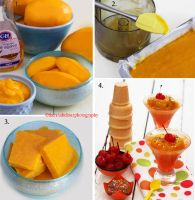 Mango Sorbet Tutorial by theresahelmer