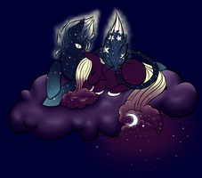 Sleepytime Cuddles by April-Cakes