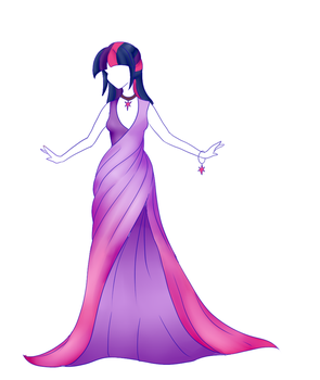 Princess Twilight Dress by CitrusSkittles