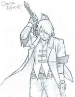 Dante With Alastor Drawing by Chancey289