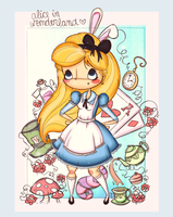 Alice in Wonderland by agusmp