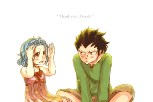 Thank you Gajeel ! by blanania