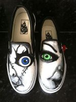 Bride of Chucky Vans by VeryBadThing