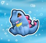 Totodile by Clinkorz