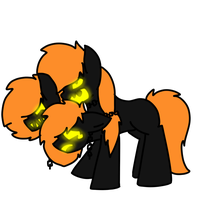 Cerberus pony-o-lantern for sparkle by Icy-Souls