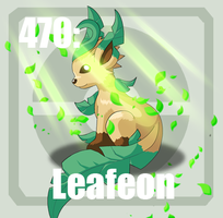 470 Leafeon by Pokedex