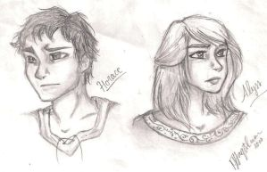 Horace and Alyss by AquariusMj212