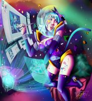 Gorgeous Galaxys by R-G-T-M