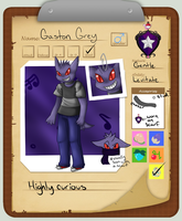 PKMN Armonia App- Gaston Grey by Ally-Chan777