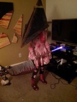 Sailor Pyramid head by NiquaPup