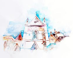 Cathedral  Duomo by AirelavArt
