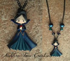 Once Upon A Time Evil Queen Polymer Clay by Nakihra