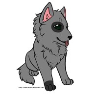 [CLOSED] Wolf Pup Adopt - 2 points by Gingerpatch-59