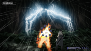Sasuke And Naruto VS Madara with rikodo power by matrksinw