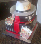 Mafia Theme Birthday Cake by Lucrecia1511