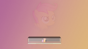 Scootaloo In A Box by Elalition