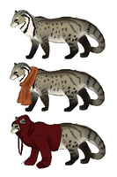 Civet character design [Gift] by nuttychooky
