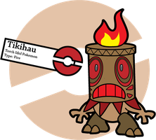 Fake Pokemon: Tikihau by Sageroot