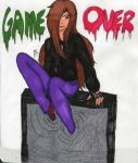 REQUEST: Arcade: Game Over by InvaderIka